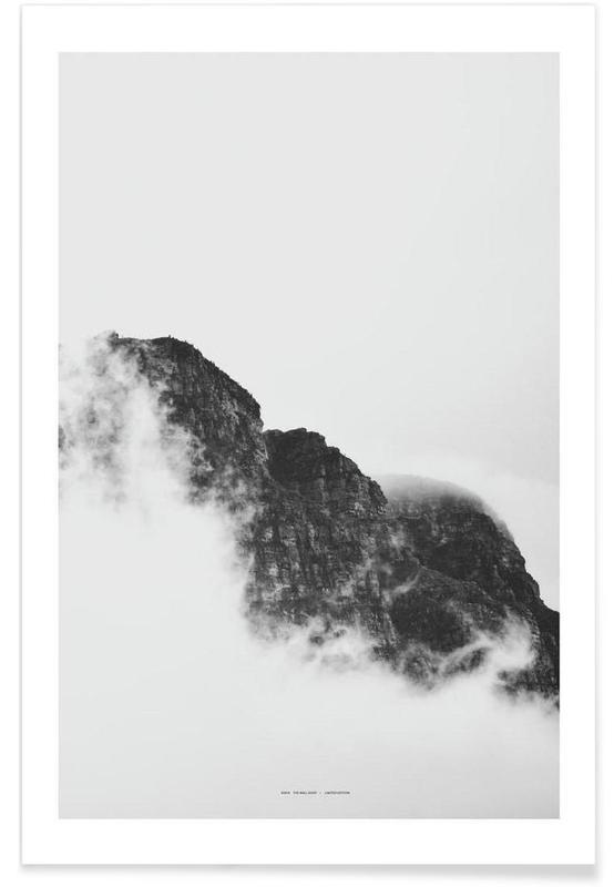Montagnes, Mountain affiche