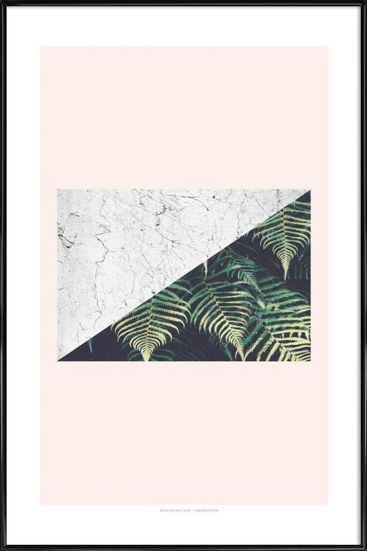 Tropical Geometry -Bild mit Kunststoffrahmen