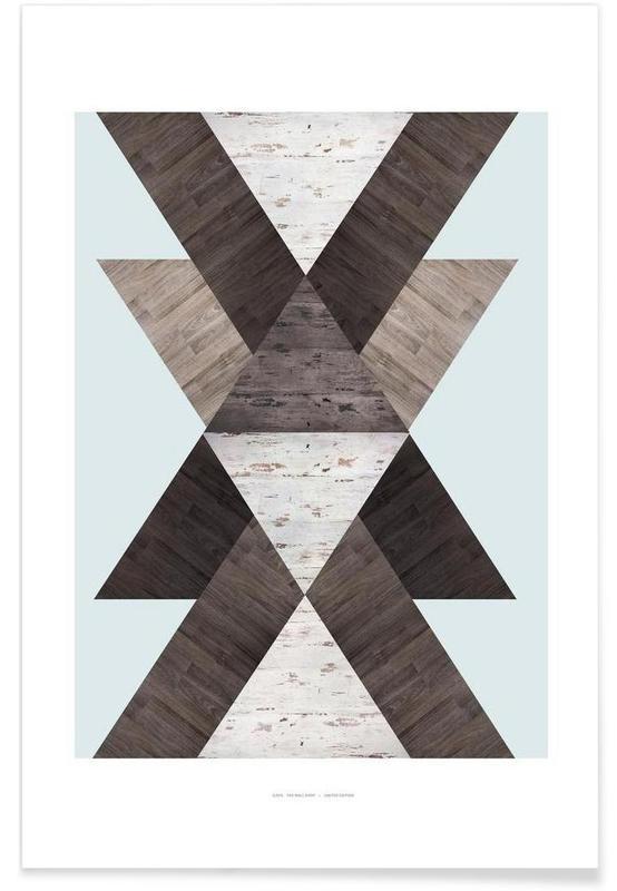 Wood N.2 poster