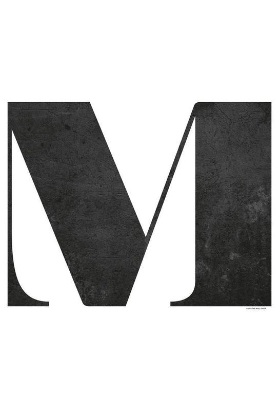 M Acrylic Print