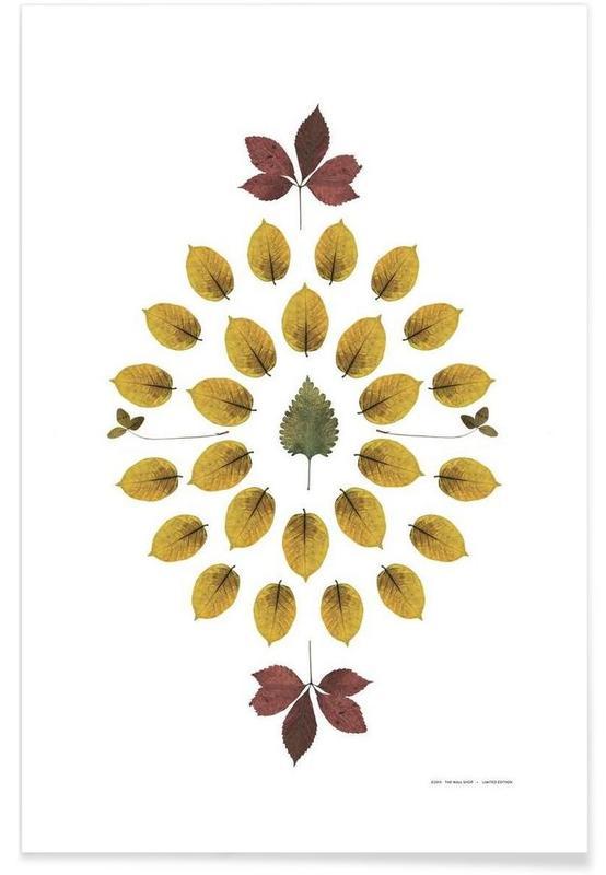 Feuilles & Plantes, Botanicals 1 affiche