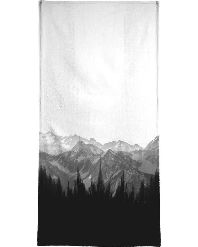 Brush Mountains -Handtuch
