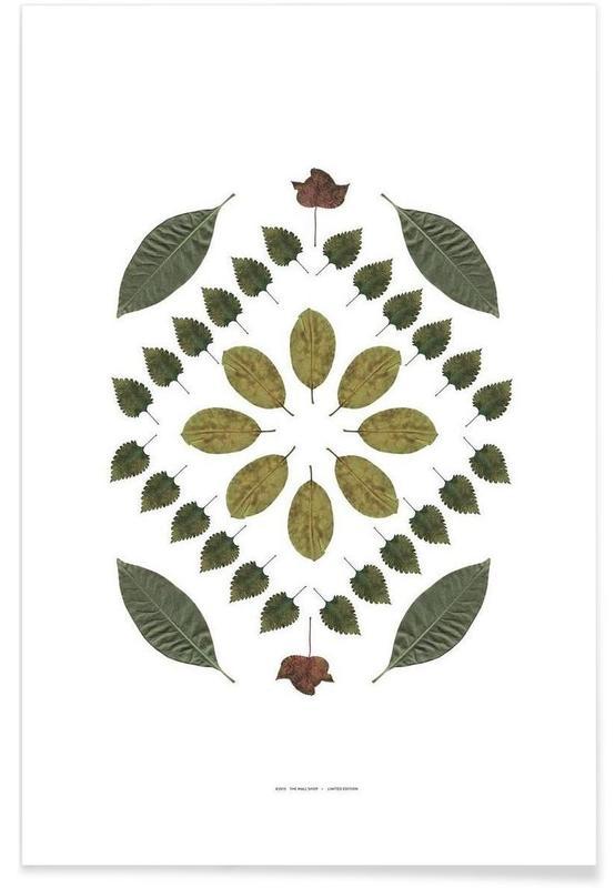 Feuilles & Plantes, Botanicals 2 affiche