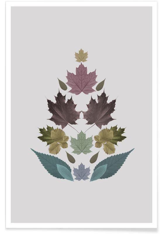 Leaves Tree Poster