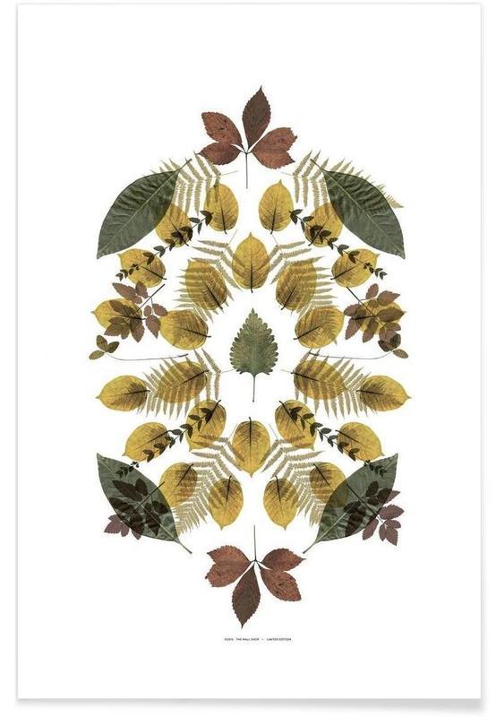 Feuilles & Plantes, Botanicals 3 affiche
