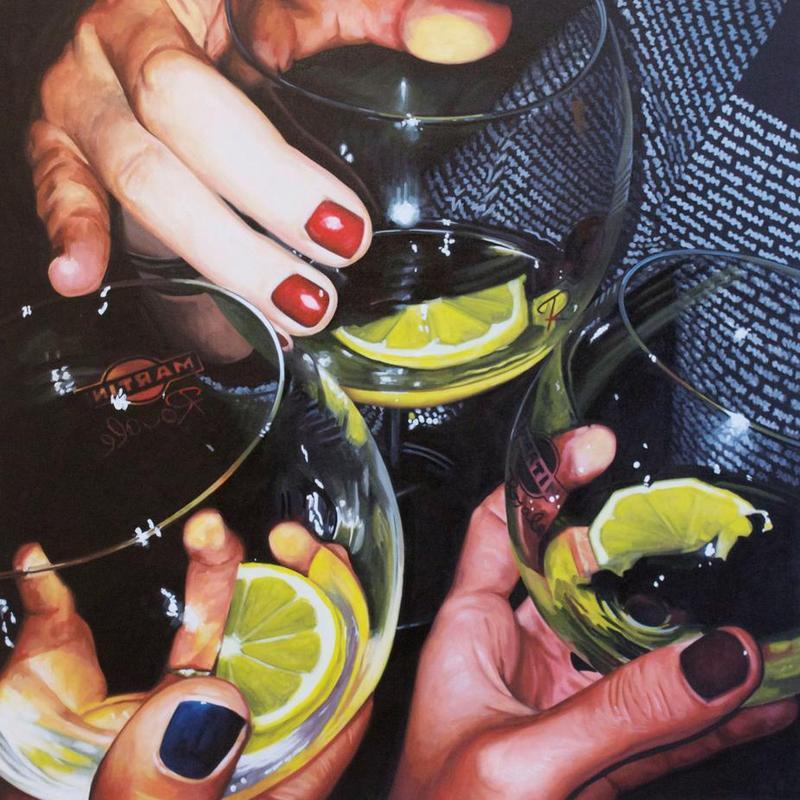 Martini -Alubild