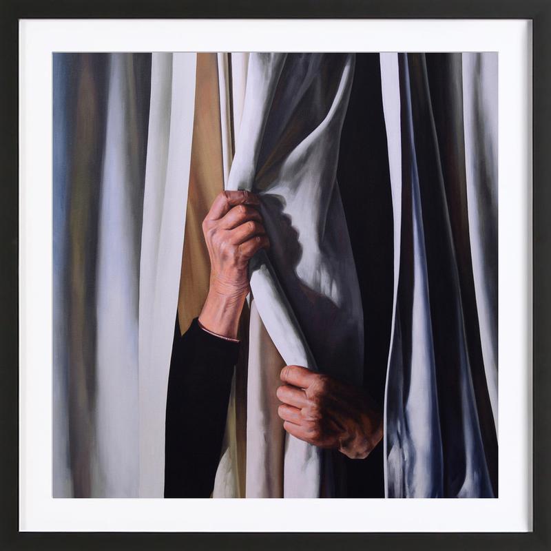 Le Rideau Framed Print