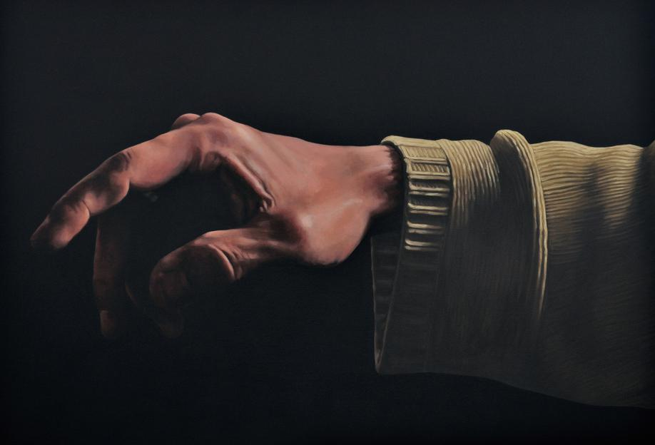 Main du Créateur -Acrylglasbild