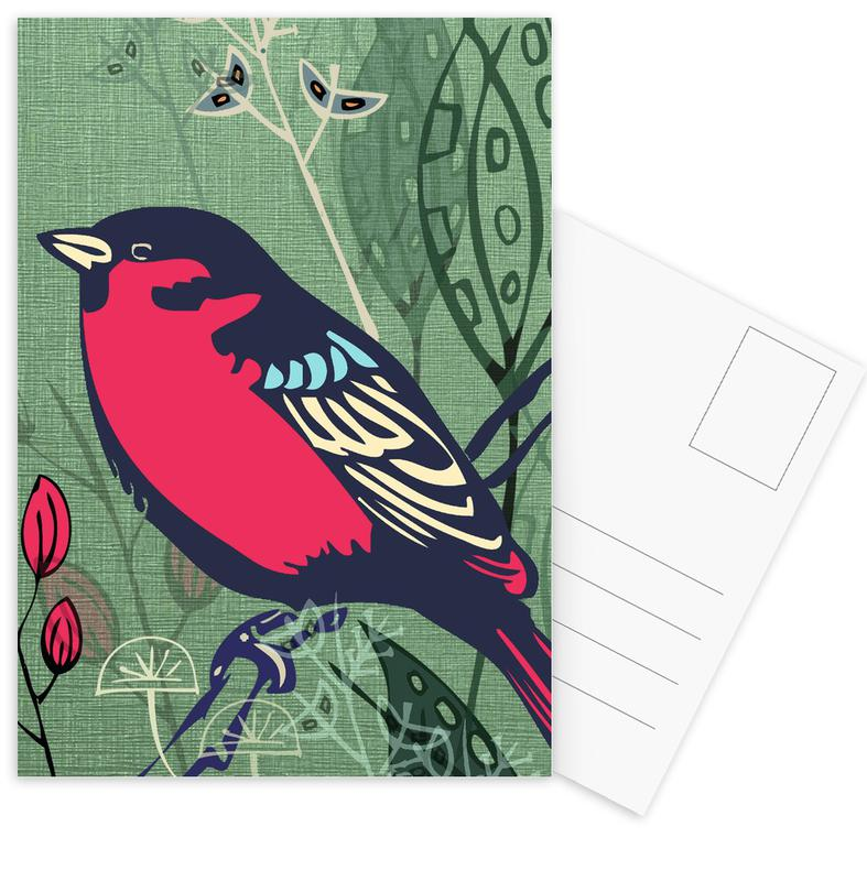 Bird Postcard Set