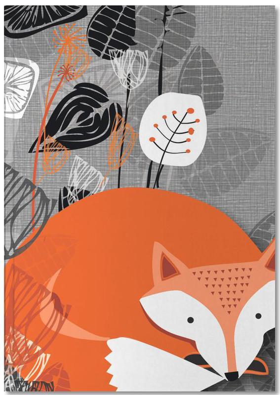 Renards, Art pour enfants, Fox Notebook
