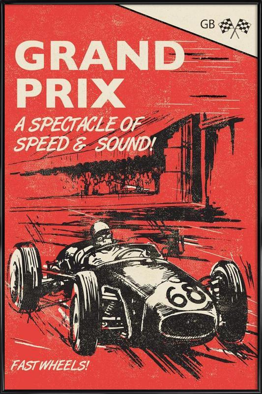 Grand Prix Framed Poster