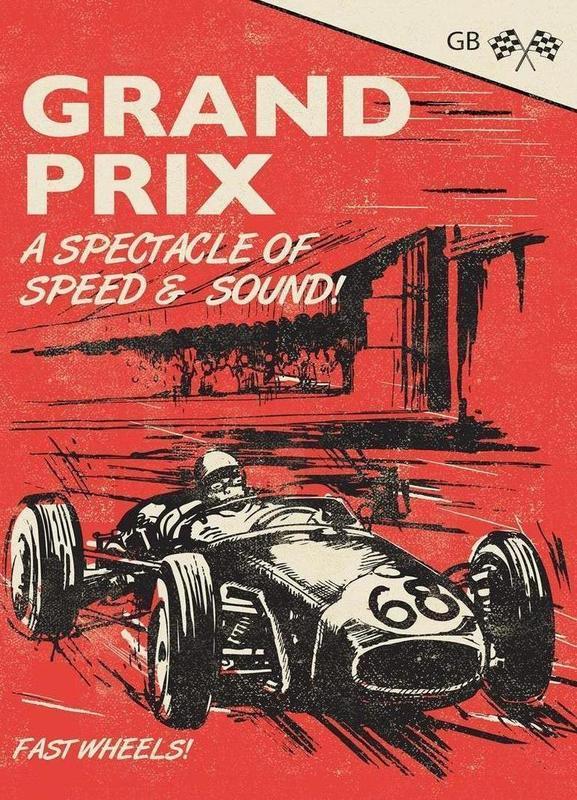 Grand Prix Canvas Print