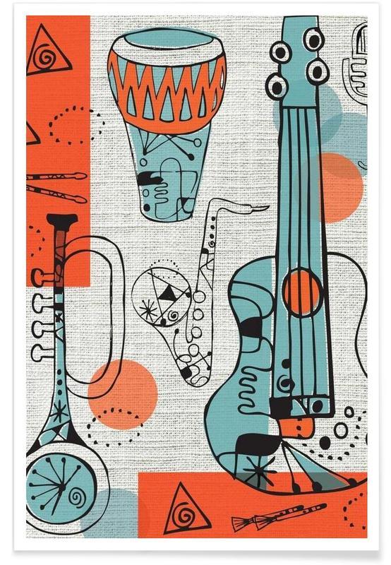 Jazz, Jazz poster