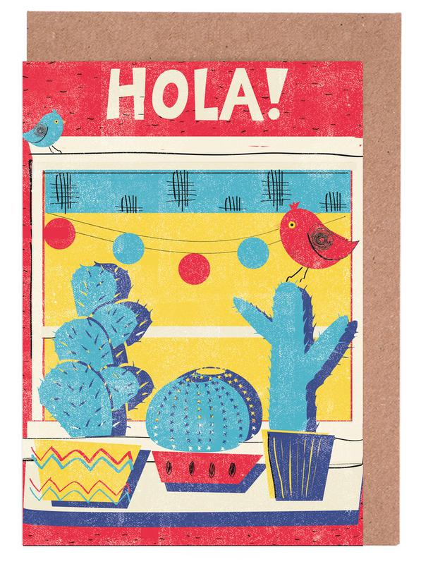 Hola! Greeting Card Set