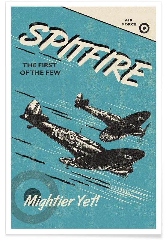 Vliegtuigen, Spitfire poster