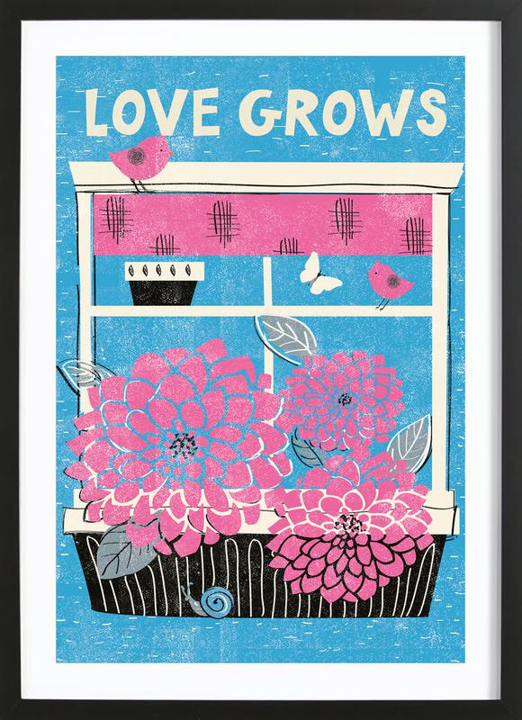 Love Grows Framed Print