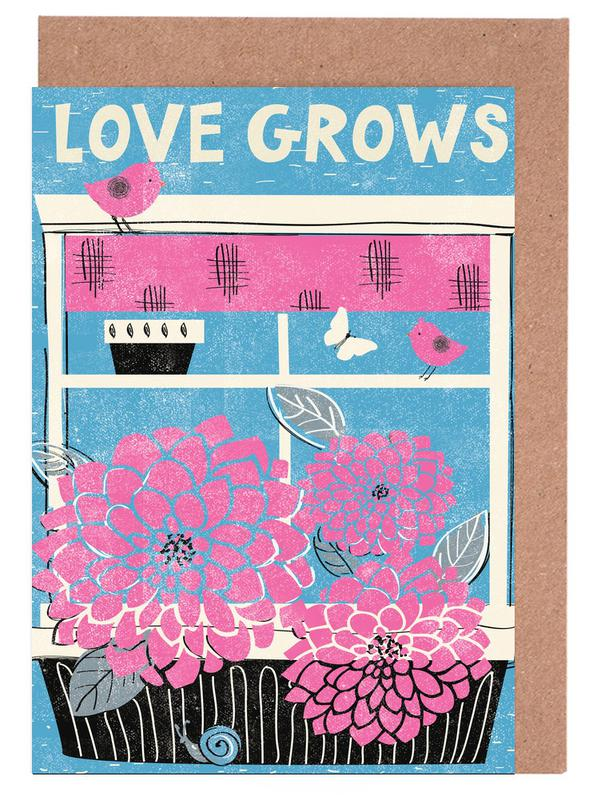 Love Grows Greeting Card Set