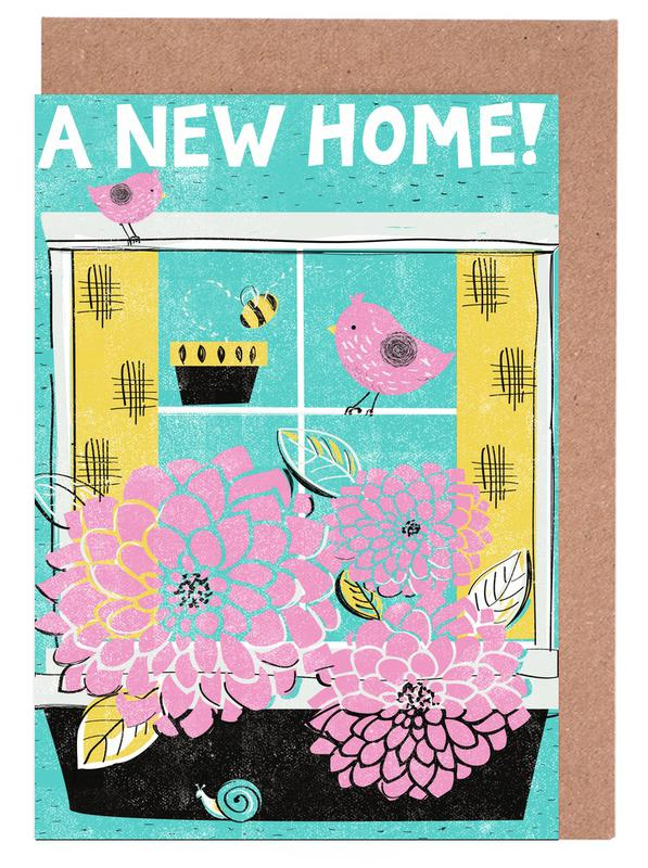 New Home Greeting Card Set