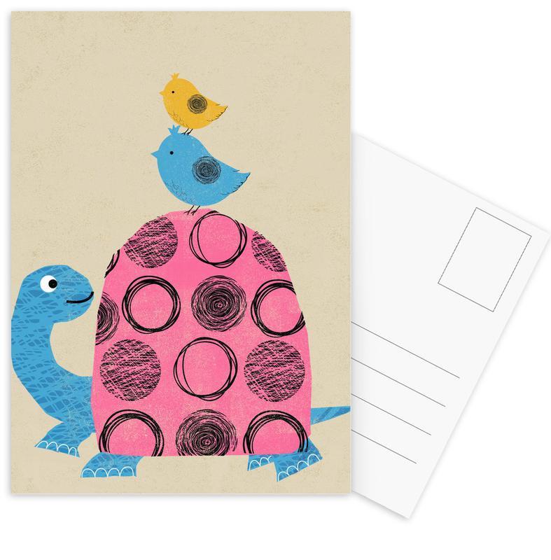Tortoise Postcard Set