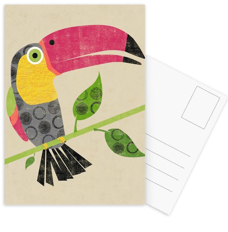 Art pour enfants, Toucans, Toucan cartes postales