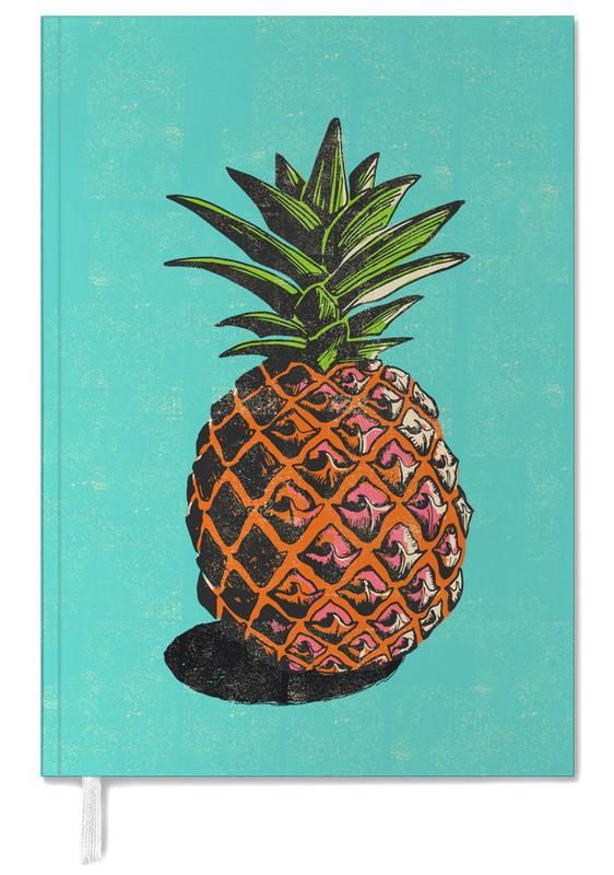 Pineapples, Retro, Pineapple Personal Planner