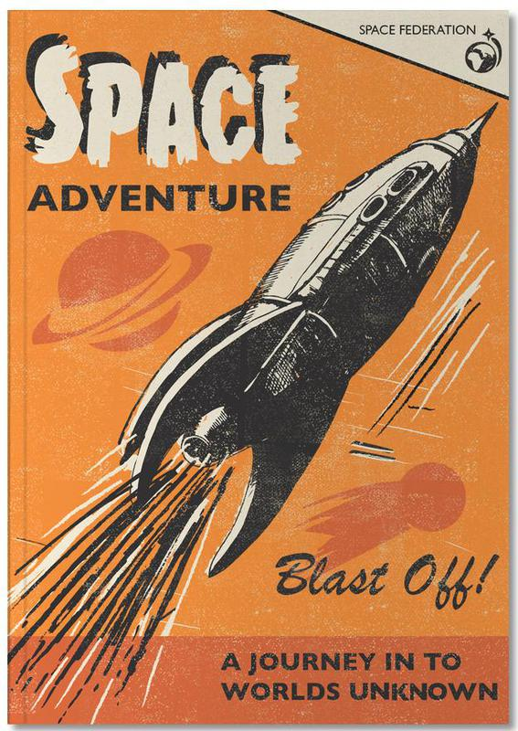 Space Adventure Notebook