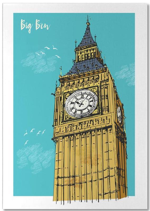 London, Big Ben Notepad