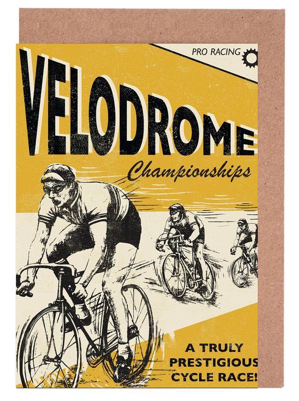 Velodrome -Grußkarten-Set