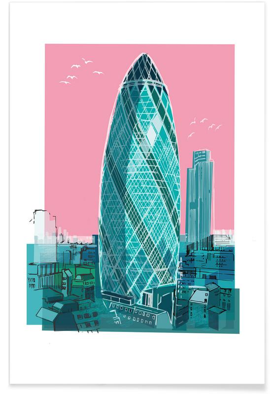 St. Mary Axe Poster