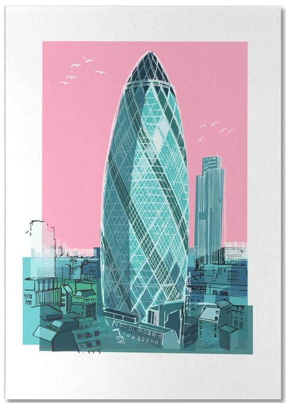 London, St. Mary Axe Notepad