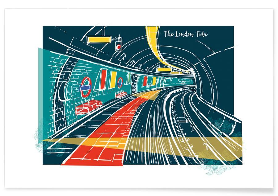 London Underground affiche