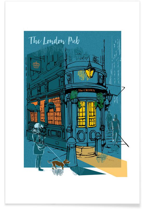 The London Pub Poster