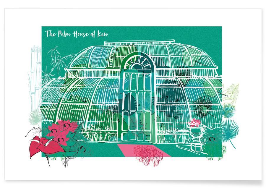 London, Sehenswürdigkeiten & Wahrzeichen, The Palm House -Poster