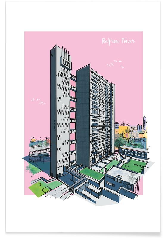 Balfron Tower Poster