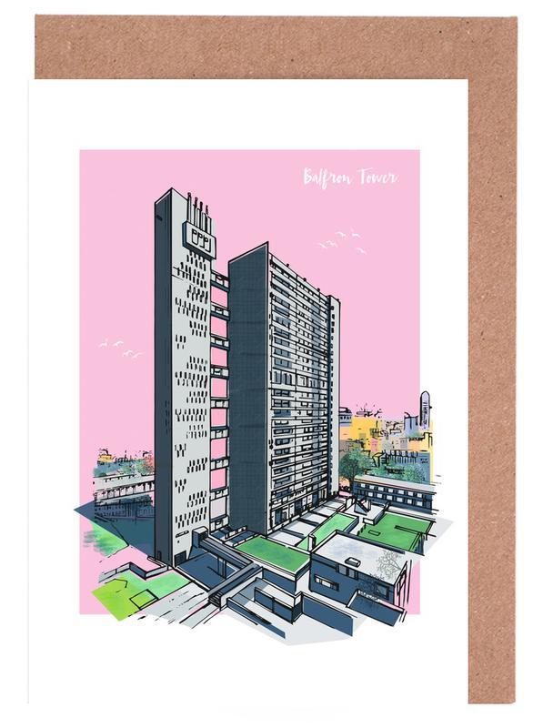 Balfron Tower -Grußkarten-Set
