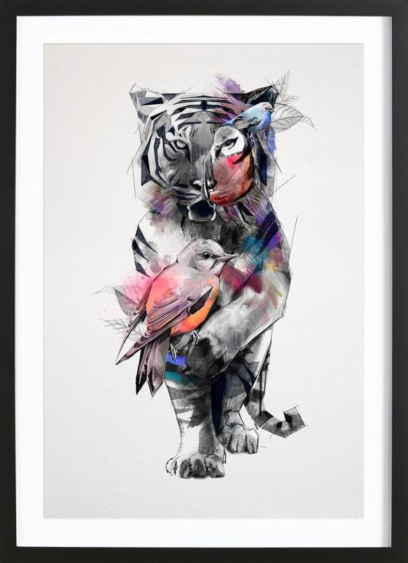 Tigers Eye Framed Print