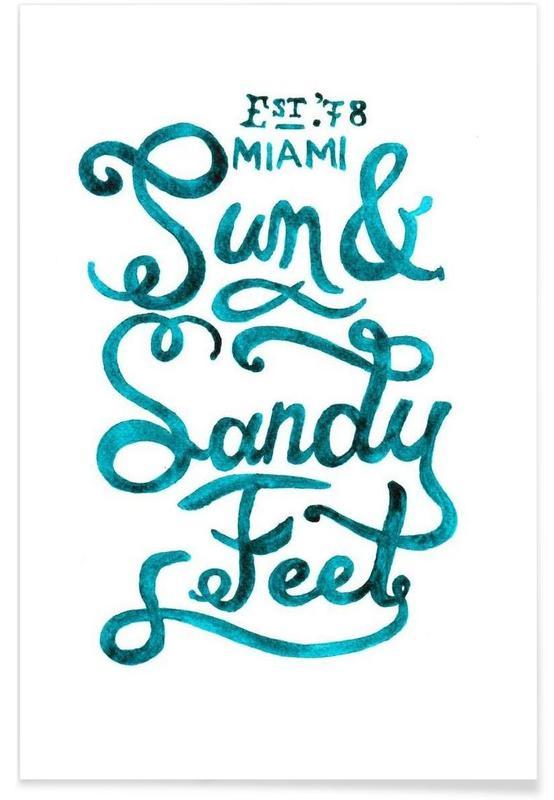 Sandyfeet Poster