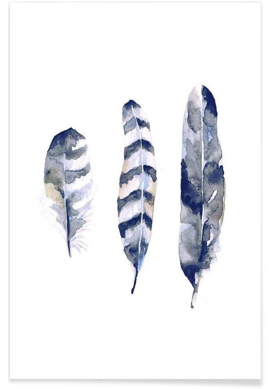 Feathers Poster