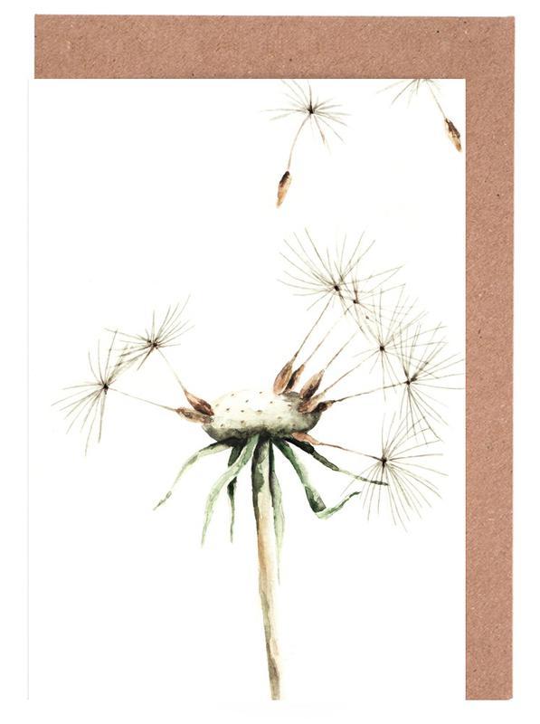 Dandelion cartes de vœux