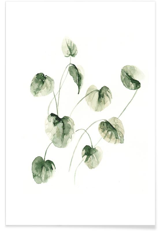 Drop Leaves Poster