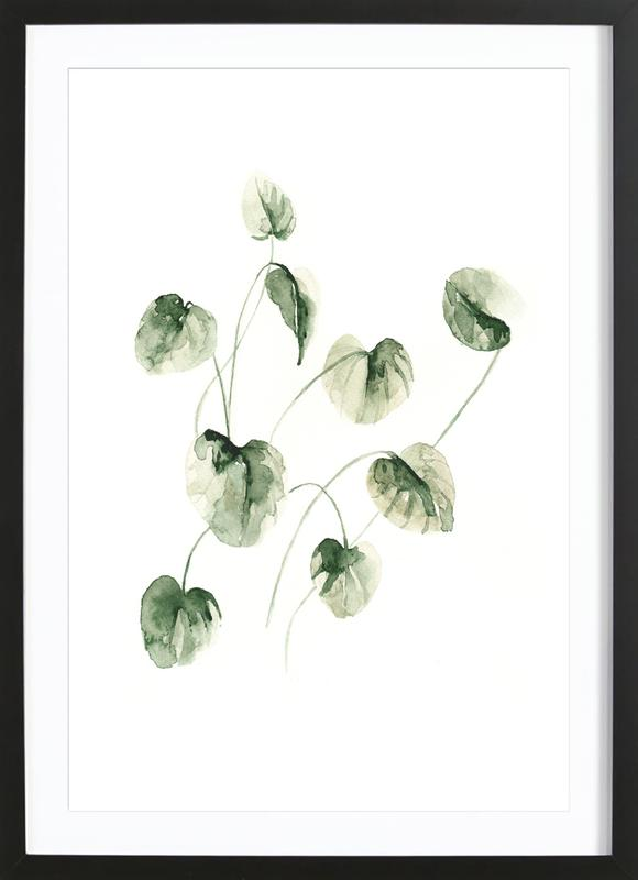 Drop Leaves Framed Print