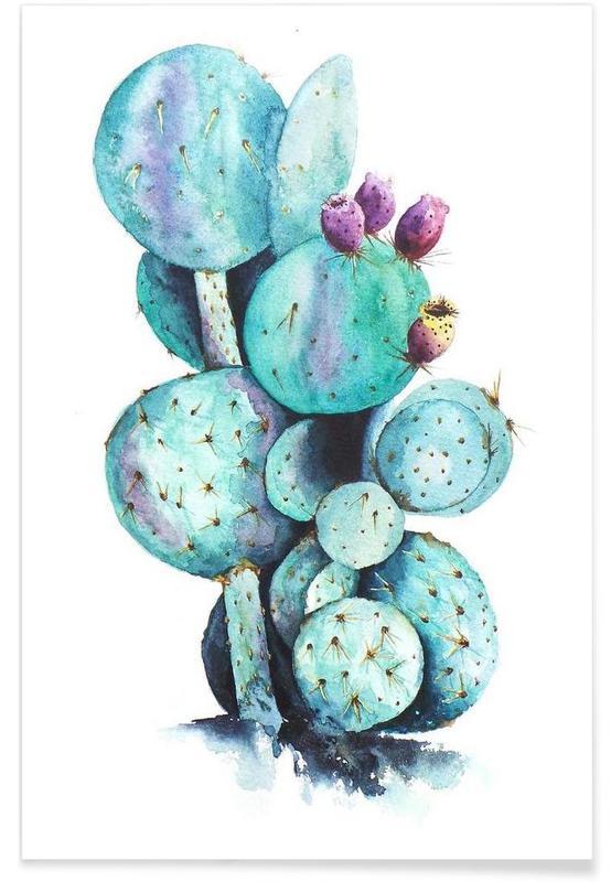 Cactus Love -Poster