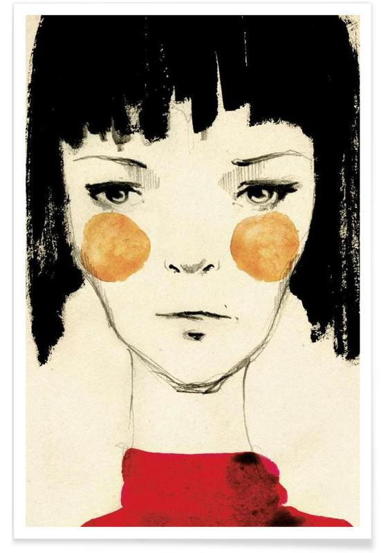 Fashion Illustrations, Citygirl Poster