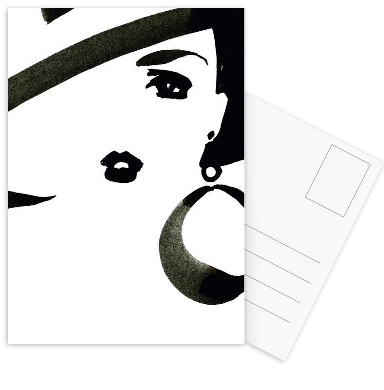Face Nr. 3 Postcard Set