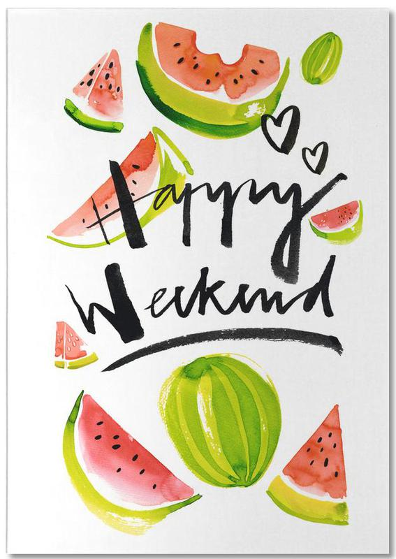 Happy Weekend Notepad