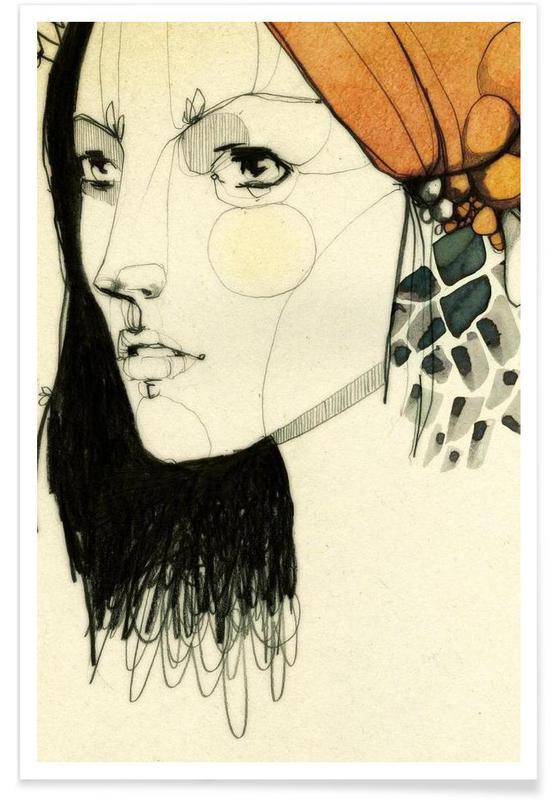 Portraits, Linda Poster