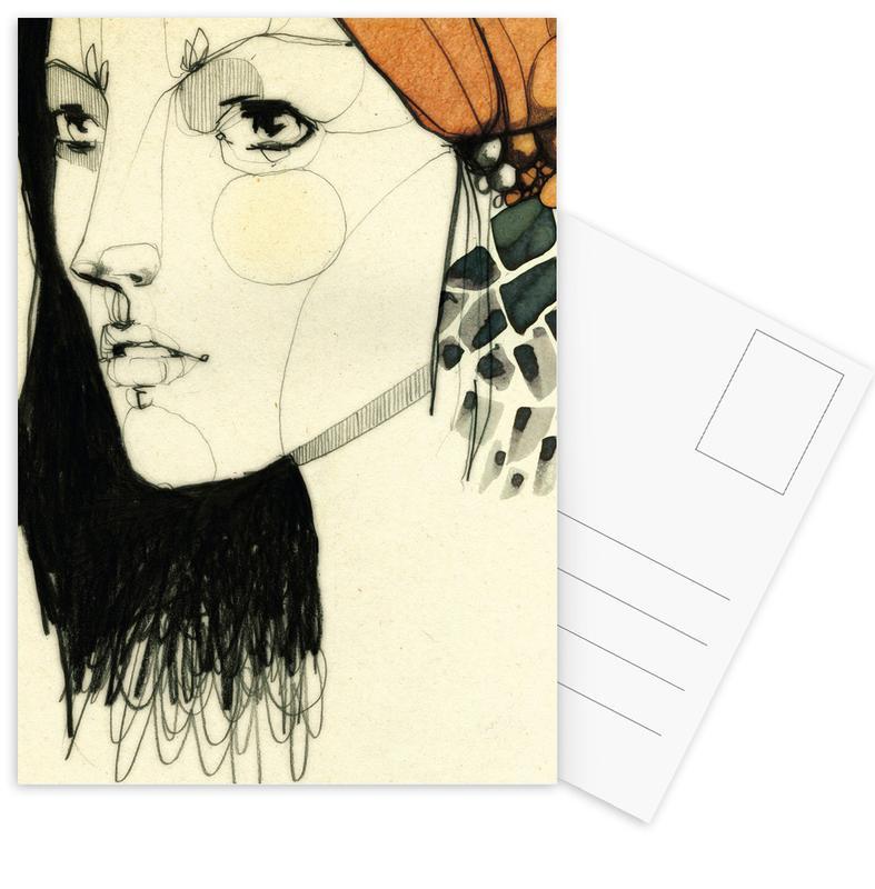 Linda Postcard Set