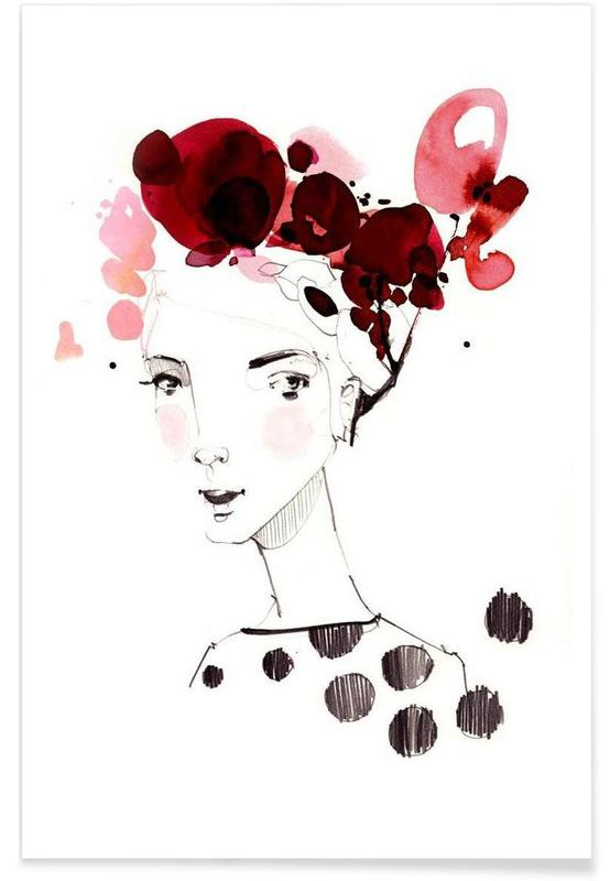 Portraits, Little Mademoiselle Poster