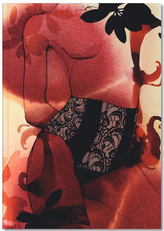 Fashion Illustrations, Rouge Notebook