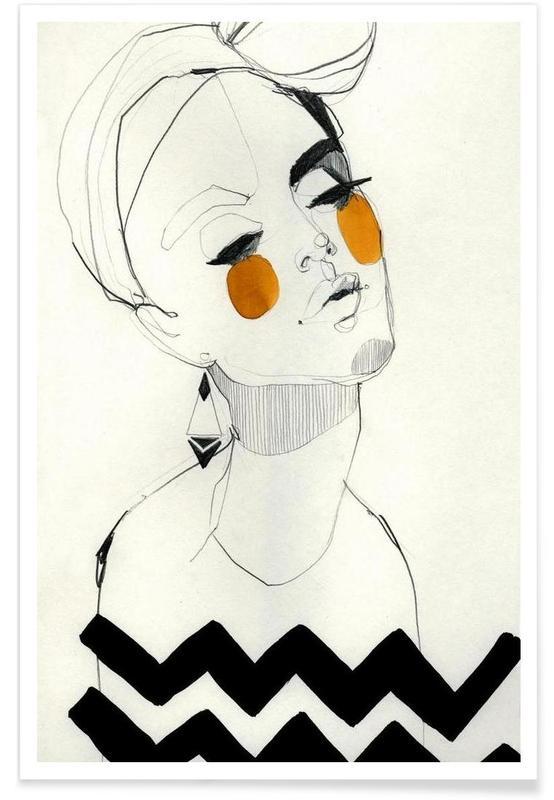 Portraits, Serpentine Poster
